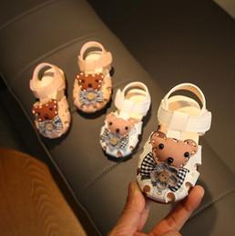 $enCountryForm.capitalKeyWord Australia - Summer Baby girl beach sandals kid girls infant toddler sandals bear 15-19 0-2years K-2 TX09