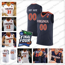 $enCountryForm.capitalKeyWord Australia - Custom Virginia Cavaliers 2019 Final Four Basketball Jersey Any Name Number 5 Kyle Guy 11 Ty Jerome 25 Mamadi Diakite S-4XL