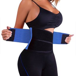 xtreme hot belt UK - Waist Trainer Cincher Man Women Xtreme Thermo Power Hot Body Shaper Girdle Belt Underbust Control Corset Firm