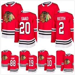 91c042917 2018 Star Mens Jonathan Toews 88 Patrick Kane 10 Patrick Sharp 2 Duncan  Keith 20 Brandon Saad blank Chicago Blackhawk Hockey Jerseys RED