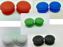 Ps4 analog stick online shopping - Increase height Silicone Analog Controller Joystick Thumb Stick Grips Cap Cover For PS3 PS4 Xbox360 Game Controllers