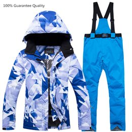 $enCountryForm.capitalKeyWord Australia - Warm and Breathable Ski Suit Female Winter Jacket+pant Waterproof Windproof Climbing Outdoor Ski Suits Snowboarding Sking Coat