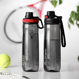 classic plastics Australia - Oneisall Outdoor Sport Bottle Plastic Water Bottles Drinking My Water Bottle Tea Infuser Tumbler Portable Space Bike Cycling J190722