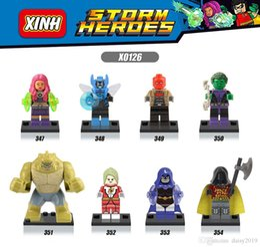 Blue Beetle Toys Australia - X0126 Super Heroes Starfire Saturn Girl Robin Blue Beetle Killer Croc Beast Boy Action Children Gft Toys