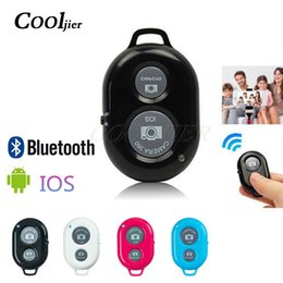 Camera remote shutter release online shopping - COOLJIER Shutter Release button controller adapter photograph control bluetooth remote button For selfie phone camera