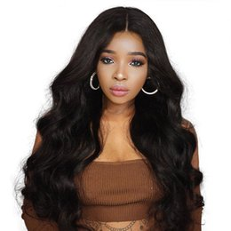 Medium Length Hair For Women Australia - 3 colors Full Lace hair for Black Women Brazilian Remy Human high Density Hair Bleached Knots and hair extension
