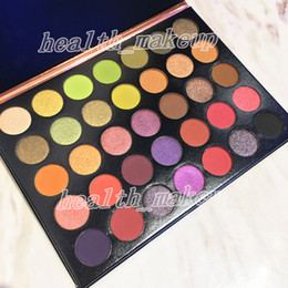 makeup palettes free shipping NZ - makeup Beauty Glazed 35 Colors Eyeshadow popping palette Nude matte shimmer eye shadow hills palette Brand Cosmetics free shipping