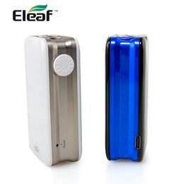 Eleaf Istick Box Australia - 100%Authentic Eleaf iStick Nowos TC Box Mod 80W Output touch screen with built in 4400mAh battery electronic cigarette vape mod
