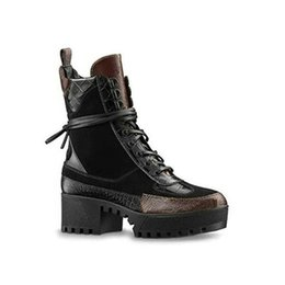 $enCountryForm.capitalKeyWord UK - Overcloud Platform Desert Boot Diseñador Ladies Martin Boots Boots Trainers LAUREATE PLATFORM 1A43R7 (With Box+Dust Bag) Size 35-41 S6
