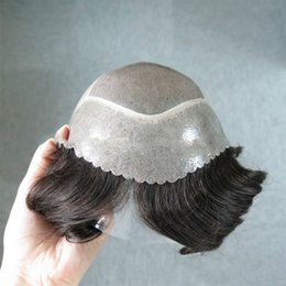 Highest Quality Wigs Australia - Korean super cool short straight brown wig, specially tailored for men, high quality, thin and breathable, comfortable to wear.