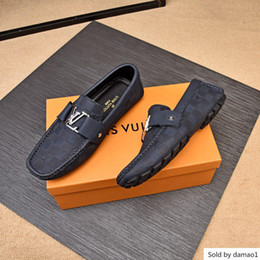 Comfy sneakers online shopping - High Soft Moccasins Loafers Luxury Brands Designer Flats Comfy Driving Casual Shoes Men Sneakers Chaussure Homme