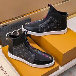 $enCountryForm.capitalKeyWord Australia - Mens Ankle Boots Dress Shoes Zipper Luxury Bottes Chaussures pour hommes Mens Fashion Shoes Footwear Zapatos de hombre High Top Casual Shoes