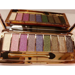 $enCountryForm.capitalKeyWord Australia - Best Cheap Eyeshadow 9 Color Glitter Makeup Pallete Matte Eye Shadow Palette Shimmer Shine Makeup Beauty Eyeshadows Tray Free Fast Ship