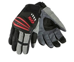 $enCountryForm.capitalKeyWord Australia - Motorcycle Motorrad Rally Black Red Leather Gloves FOR BMW GS1200 GS Cycling Gloves