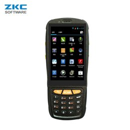 rfid reader handheld 2019 - ZKC PDA3503S GPRS 3G 4G Android Handheld Courier PDA Scanner Device Barcode Qr code Scan Equipment NFC RFID Smart Card R