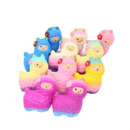 soft toy alpaca NZ - Alpaca Squishies Toys Slow Rising Mini Squishy Stress Relief Toys Super Soft Squeeze Cute Scented Fragrant for Kids&Adults