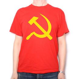 $enCountryForm.capitalKeyWord NZ - Hammer & Sickle T Shirt - Communist Flag Russion Communism Anti Capitalism?Funny free shipping Unisex