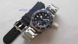 Military watches bracelet online shopping - Mens luxury military Superlative ZF factory ETA cal mm TN Titanium Bracelet Swiss Movement Automatic Mens Racing Watches Rubber