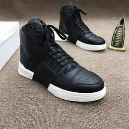 white ankle boots men NZ - 2019 Mens Winter Genuine Leather Ankle Boots Fashion Fur Lined Walking Shoes Men Black White Blue Large Size Motorcycle Boots