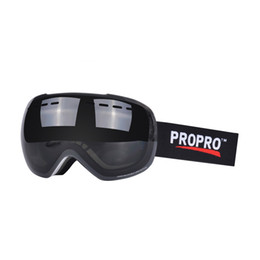 Ski Goggles Anti Fog Glasses Australia - PROPRO Large Spherical Frameless Ski Glasses Uv400 Sg-0106 Veneer Double Plate Men Women Double Anti-Fog Goggles Outdoor Glass