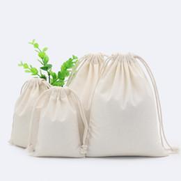 $enCountryForm.capitalKeyWord Canada - 5pcs Drawstring Storage Bag Cotton Fabric Dust Cloth Clothes Socks Underwear Shoes Receive Bag Home Sundry Kids Toy Storage Bags