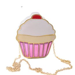 Cartoon Cute Cake Australia - good quality 2019 New Women Cartoon Cute Lolita Style Ice Cream Cake Chain Crossbody Bags Fashion Handbags Lovely Lady's Messenger Bag