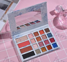 makeup palette blush Australia - no logo eyeshadow makeup palette mix color matte shimmer gliter total 20 colors mix use as blush eyeshadow Concealer 153mm*105mm*14mm