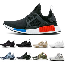 6003bacbd05 New Arrival NMD XR1 R1 Running Shoes black beige Olive green Camo OG Classic  Japan white mens women sports Sneskers Designer Shoes 36-45