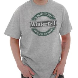 351f9cc1 Funny Drinking T Shirts Australia - Winterfell Beer Brewed in North Funny  Shirt Throne Game Drink