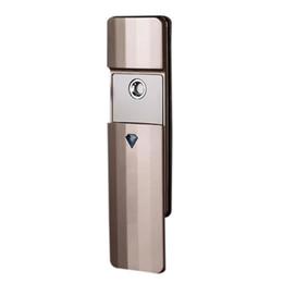 Portable Steamers Australia - Portable Nano Spray Mist Handy Facial Steamer Mister Usb Rechargeable Face Moisturize Hydrating Sprayer Device Beauty Instrume