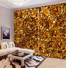 $enCountryForm.capitalKeyWord Australia - customize blackout curtains Bedroom living room Flower home curtains modern eyelet curtain