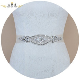 $enCountryForm.capitalKeyWord NZ - New European Bridal Protein Rhinestone Belt Accessories Bride Wedding Dress Jewelry Belt Into the store to choose more styles