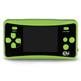 """$enCountryForm.capitalKeyWord UK - Handheld Game Console for Kids, NEW Upgrade QS-4 Series Portable Retro FC Game Console with 2.5"""" Color LCD and TV Output Function-Green"""