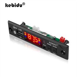 $enCountryForm.capitalKeyWord Australia - Car Audio USB TF FM Radio Module Color Screen Wireless Bluetooth 5V 12V MP3 WMA Decoder Board MP3 Player with Remote Control
