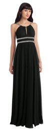 $enCountryForm.capitalKeyWord UK - Beauty Black Chiffon Straps Beads Junior Bridesmaid Dresses Bridesmaid Wedding Dresses Party Prom Dresses Custom Size 2-18 KF101420