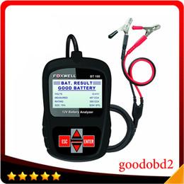 $enCountryForm.capitalKeyWord Australia - FOXWELL BT100 12V Car Battery Tester for Flooded,AGM,GEL Original BT100 12 Volt Digital All Cars Data Battery Analyzer