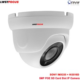 Dome cctv sD online shopping - Sony MP PoE IP Camera x1964 MP Dome Security Outdoor Video Surveillance Camera CCTV Night vision With SD card slot ONVIF