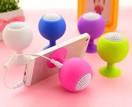 Tablet Pc Loudspeaker Australia - HOT Multi-function Mini Speaker bracket 3.5mm Stereo Microphone Portable USB Speaker MP3 Music Player Loudspeaker for Mobile Phone Tablet PC