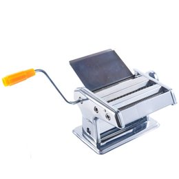 Wholesale Beijamei Promotion Stainless Steel Home Handle Pasta Presser Maker Household Manual Small Noodle Pressing Making Machine
