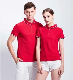 $enCountryForm.capitalKeyWord Australia - Good quality wholesale Soft Touch Custom Fit Polo T- shirt Cute Couple Shirt Design golf T shirt 5pcs  lot free Shipping