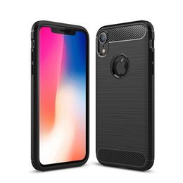 Carbon Case iphone 6s plus online shopping - Carbon Fiber Case For iPhone Pro X Xr Xs Max S Plus S SE TPU Rubber Phone Cover For Samsung S10 S10e S9 Plus S8 Note