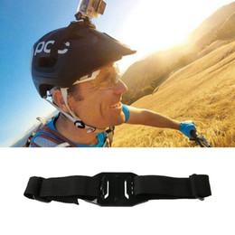$enCountryForm.capitalKeyWord NZ - Bicycle Helmet Strap For Sport Camera Cycling MTB Bike Parts Fixing Belt Universal Adjustable Mount Riding Trip Recorder A