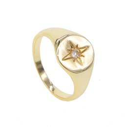 $enCountryForm.capitalKeyWord Australia - High polished simple plain Gold filled cocktail ring us size 6 7 8 minimalist fashion jewelry finger rings