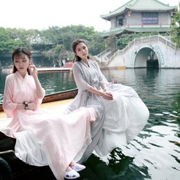 Chinese ladies Clothes online shopping - Hanfu summer hanfu women s national clothes chinese ancient female costume lady chinese stage dress