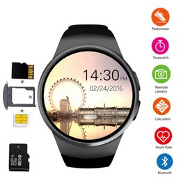 $enCountryForm.capitalKeyWord Australia - Smart Watch Men Support SIM TF Card Bluetooth Call Heart Rate Pedometer Sport Modes Smartwatch For Android IOS