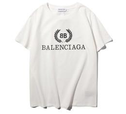 Wholesale women t shirts online – design fashion Printed tshirts stree t shirt style Cotton short sleeve Women Men Tee Hip Hop Shirts