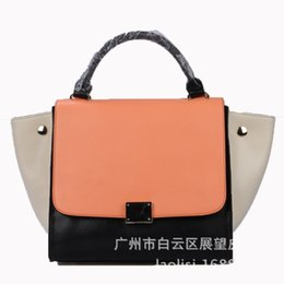 $enCountryForm.capitalKeyWord Australia - Lucky2019 Fire Exceed Ins Small Bag Hit Color Wing Messenger Single Shoulder Genuine Leather Portable Swing Woman Package