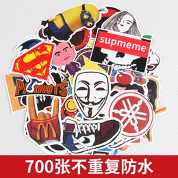 $enCountryForm.capitalKeyWord NZ - 700 molds  lot Mixed Cartoon Toy Stickers for Car Styling Bike Motorcycle Phone Laptop Travel Lage Cool Funny Sticker Bomb JDM Decals