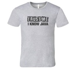 $enCountryForm.capitalKeyWord Australia - Trust Me I Know Java T-Shirt Funny tech Tshirt Cool Casual pride t shirt men Unisex New Fashion tshirt free shipping tops
