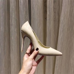 $enCountryForm.capitalKeyWord NZ - Women High Heels shoes Brand Designer Red Bottom shoes Luxury Glitter Pump Leather Pointed Toe Women Sexy Pumps Wedding Dress Shoes